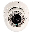 Outdoor Infrared Dome Camera with Varifocal Lens