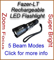 Fazer Rechargeable LED Flashlight