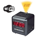 WiFi Alarm Clock Radio Camera