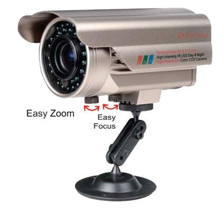 Infrared Outdoor Security Camera with OSD & WDR