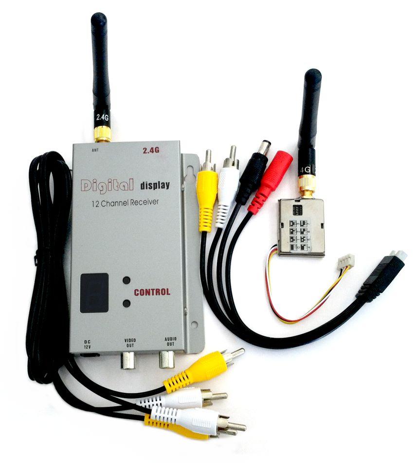 200mW 2.4 GHz Transmitter/Receiver Set