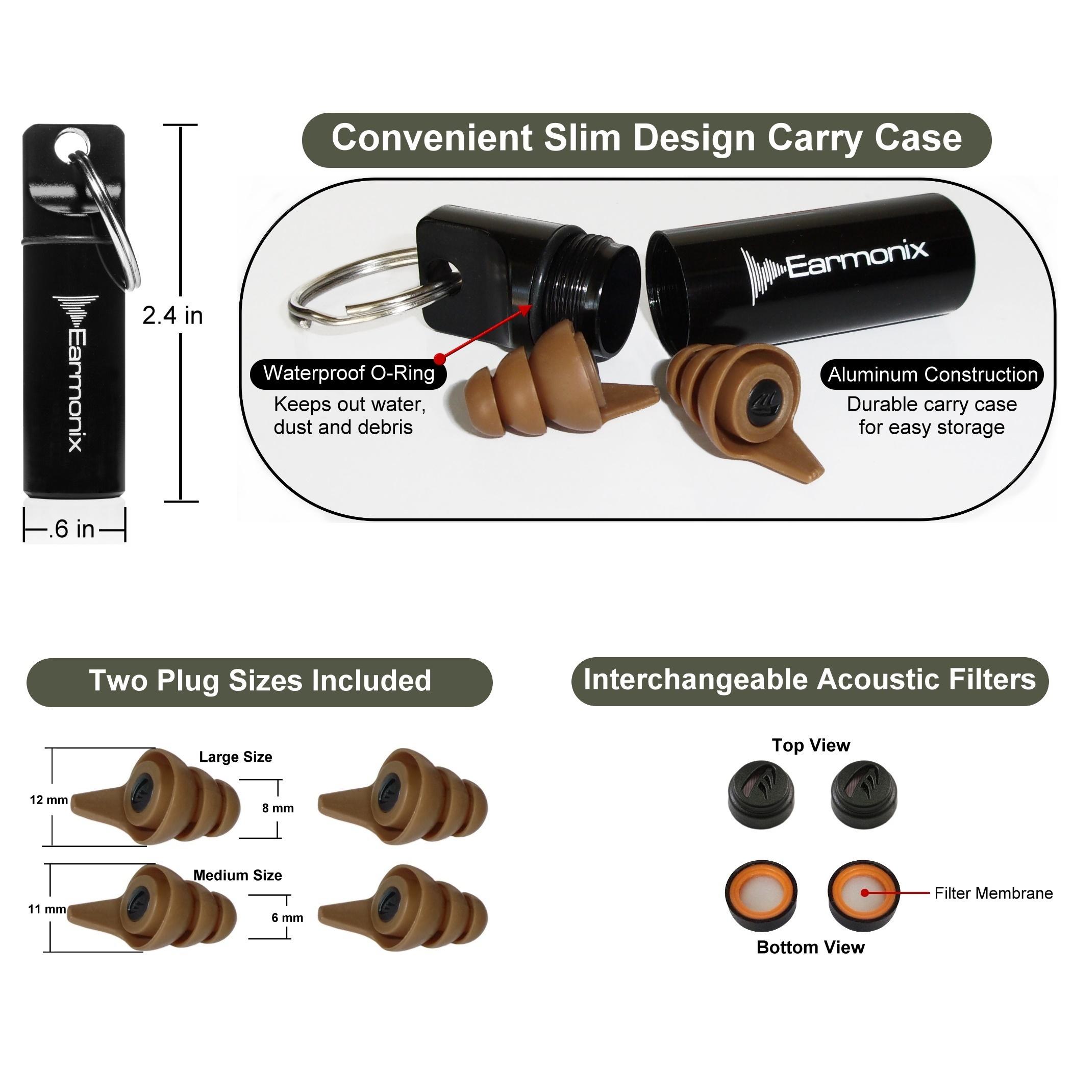 earmonix shooting impulse noise reducing ear plugs rh protectiondepot com  ear plug wiring diagram