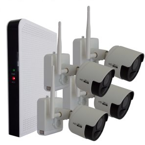 Wire Free Security Camera System