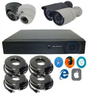 AHD Video Surveillance Systems