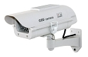 Fake IR Outdoor Housing Camera with Solar Powered LED
