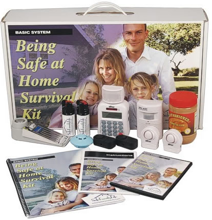 Being Safe At Home Survival Kit Basic System