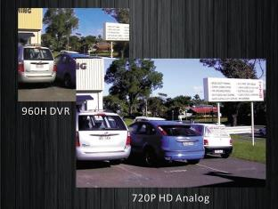 comparison of standard cctv image to high def image