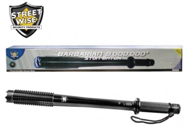 Flashlight Baton Weapon Stun Baton Flashlight by