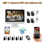 4 Channel WiFi Security Camera System