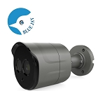 Compact 5MP IP Infrared Outdoor Bullet Camera with 2.8mm Lens - Gray