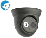 5MP Wide Angle IP Dome Camera with 120 ft Night Vision - Gray