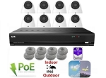 8 Channel 5MP IP Dome Camera System