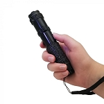 JOLT RhineStun Rechargeable Flashlight 75,000,000 - Black