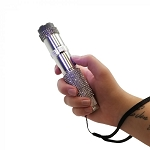 JOLT RhineStun Rechargeable Flashlight 75,000,000 - Silver