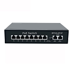 8 Port Fast Ethernet PoE Switch
