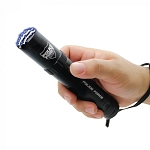 Police Force 9,200,000 Tactical Stun Flashlight - Black