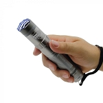 Police Force 9,200,000 Tactical Stun Flashlight - Gun Metal