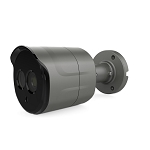 5MP Bullet Camera 2.8mm Fixed Lens - Gray