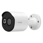 5MP Bullet Camera 2.8mm Fixed Lens - White
