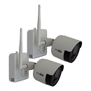 Outdoor Wire Free Security Camera - 2 Pack