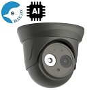 5MP IP Dome with Wide Angle Lens and Smart AI Functions - Gray