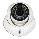 Hybrid Infrared Dome Camera with EZ Mount Base