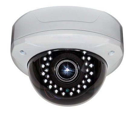 Varifocal Outdoor Infrared Dome Camera
