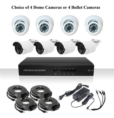4 Channel AHD Surveillance System