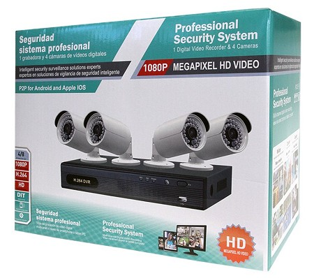 AHD 1080p 4 Channel Surveillance Package