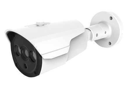 Wide Angle 5MP IP Bullet Camera with Long Range Infrared