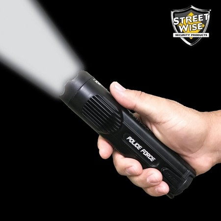 Police Force 15,000,000 Tactical Stun Flashlight