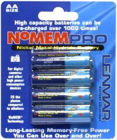 Pack of 4 NiMH Batteries