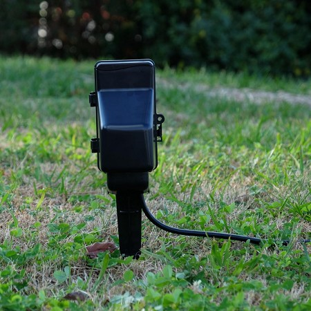 Outdoor Light Timer with Hidden Camera