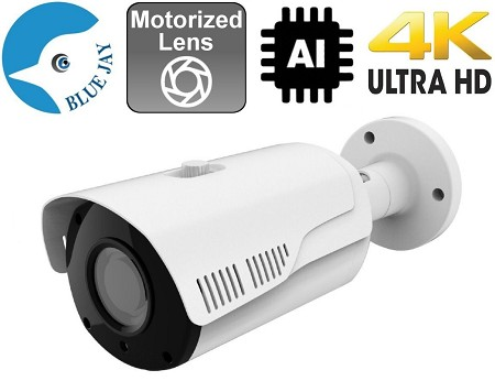 8MP Infrared IP Bullet Camera with AI Functions