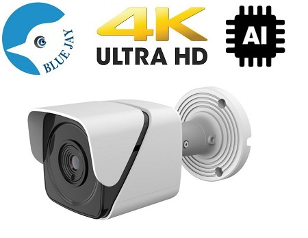 IP Infrared Bullet Camera 4K 8MP Resolution with 2.8mm lens