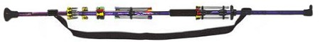 48 inch 2-piece Purple/Black Bunker Buster