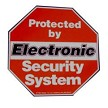 Alarm System Warning Decals