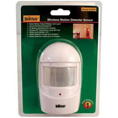 Wireless Home Security Motion Sensor by HomeSafe®