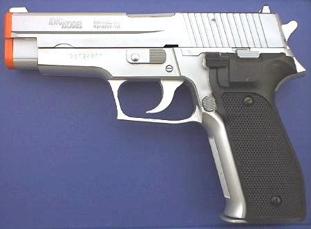 KA-15C Chromed Airsoft Pistol