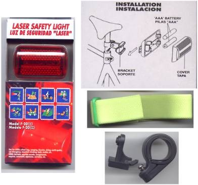 Six function Safety Flasher