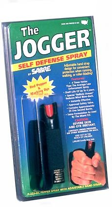 Jogger Model Pepper Spray