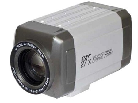 27X Optical Zoom Camera with Day/Night Function