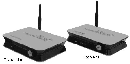 1000 Foot Digital Audio Video Transmitter and Receiver