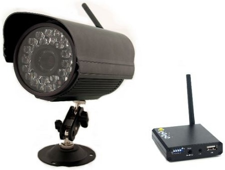 Long Range Wireless Infrared Camera