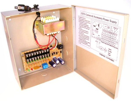 12VDC Power Supply Box