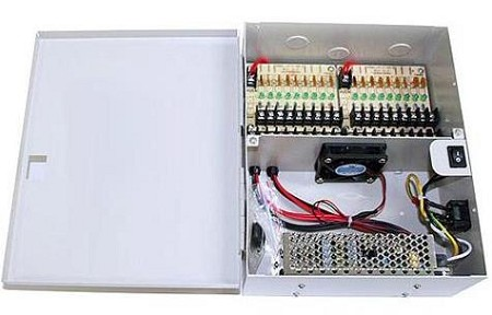 12VDC 18 Port Power Supply Box