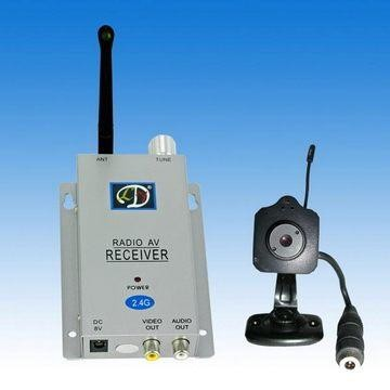 Mini Color Wireless Camera and Receiver